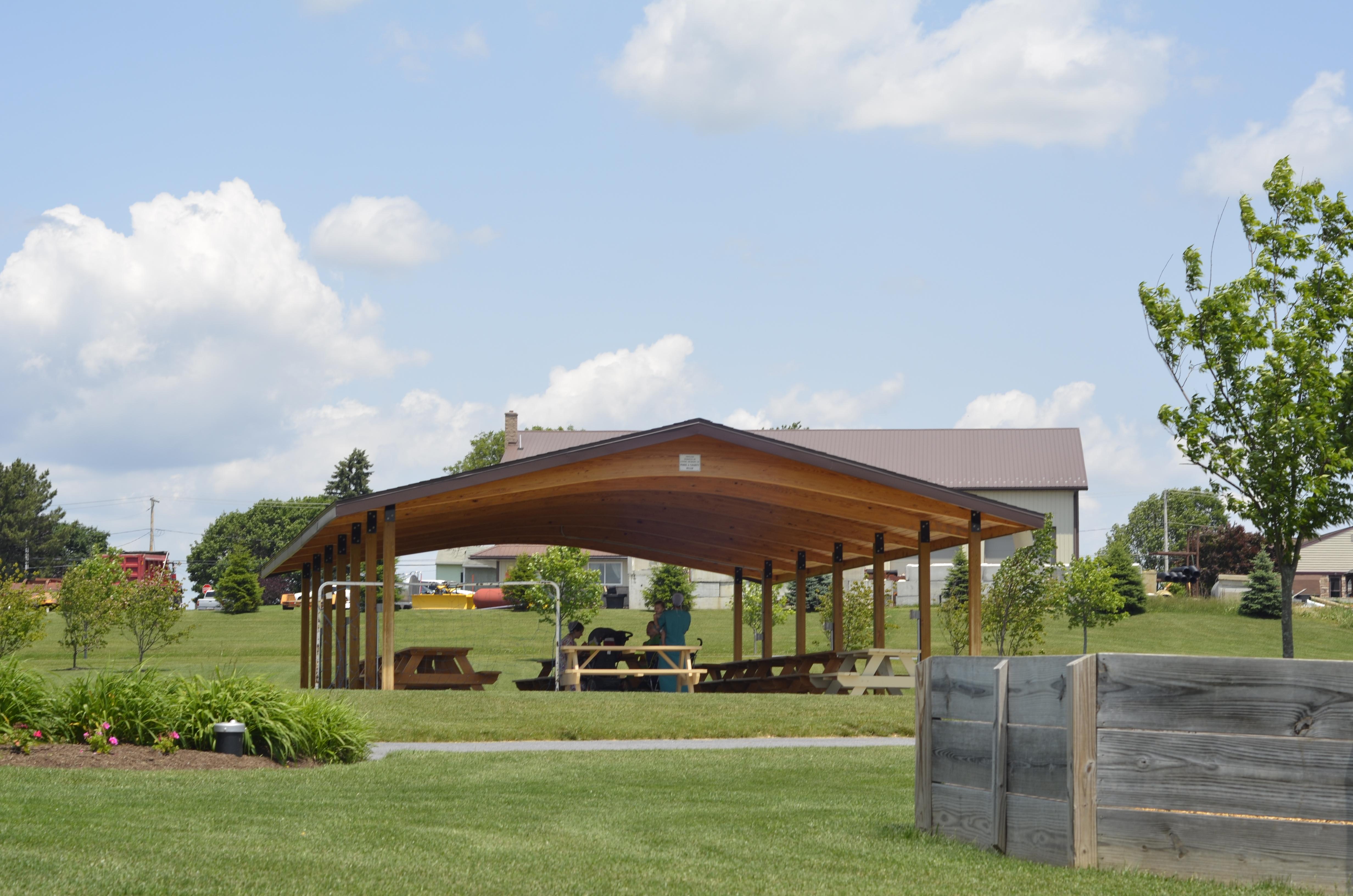 elizabeth township  u2013 community park pavilion